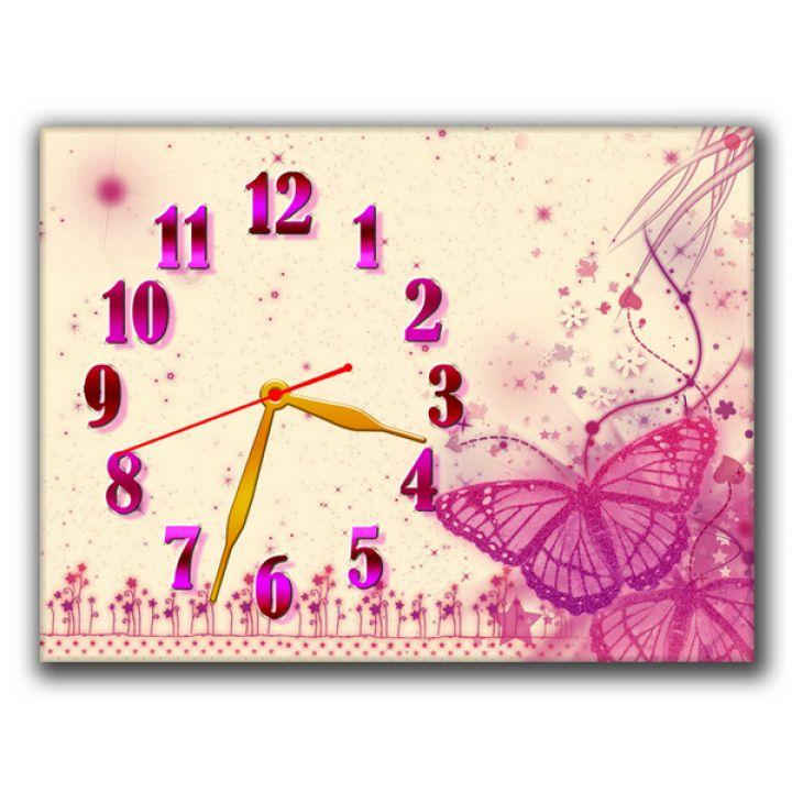 Годинник Романтична Композиція, 30х40 см