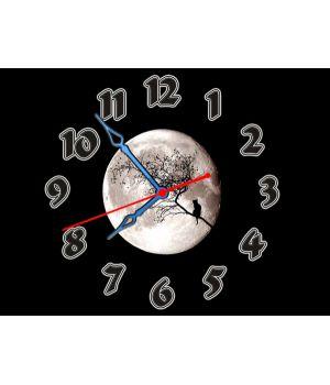 Часы Полная Луна