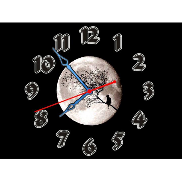 Часы Полная Луна, 30х40 см