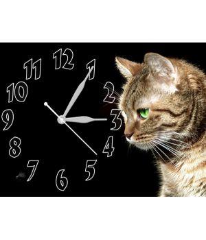 Часы Загадочная Кошка