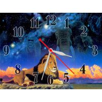 Годинник Цар Звірів, 30х40 см