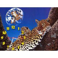 Годинник Леопарди, 30х40 см