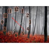 Часы Поздняя Осень, 30х40 см