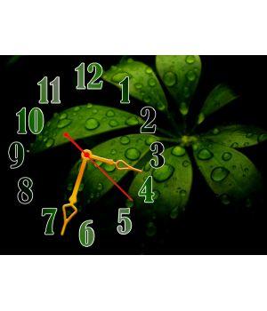 Часы Сочные Нотки, 30х40 см