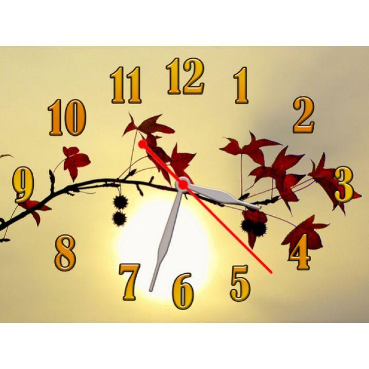 Часы Яркая Осень, 30х40 см