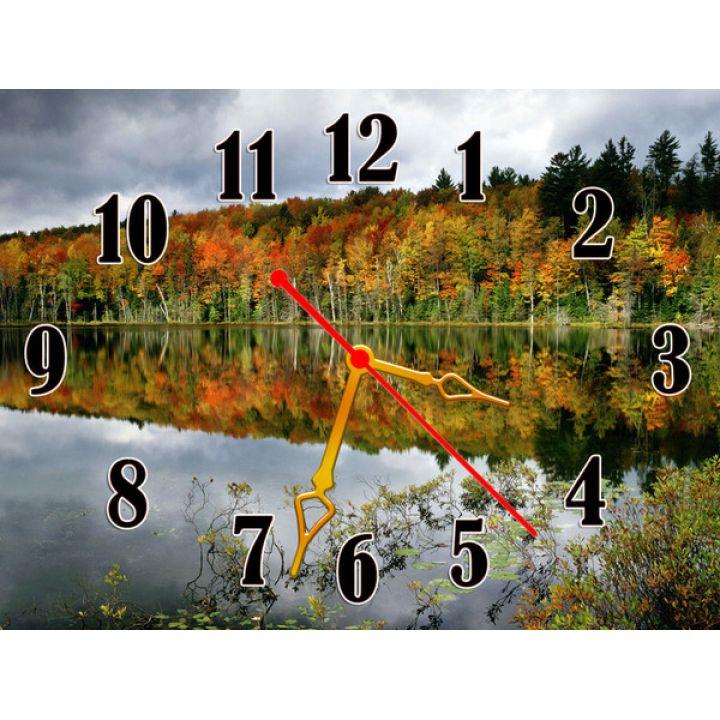 Годинник Дивовижний Ліс, 30х40 см