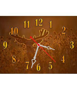 Часы Олень, 30х40 см