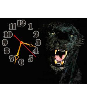 Часы Пантера, 30х40 см