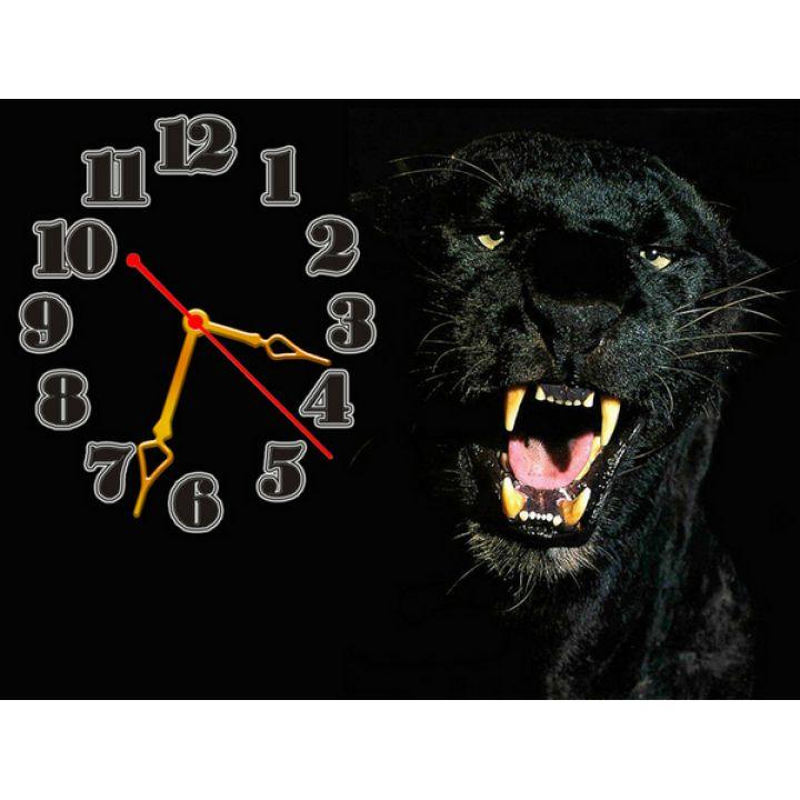 Годинник Пантера, 30х40 см