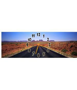 Часы настенные Длинная Дорога