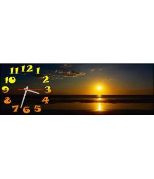 Часы настенные Закат