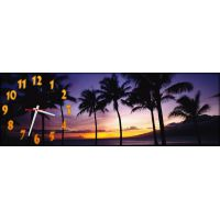 Часы настенные Пальмы, 30х90 см