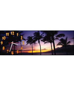 Часы настенные Пальмы
