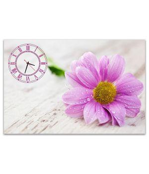 Часы настенные Розовый Цветок