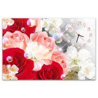 Часы настенные Яркие Цветы 554412-19, 60x90 см