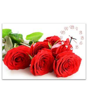 Часы настенные Букет Роз