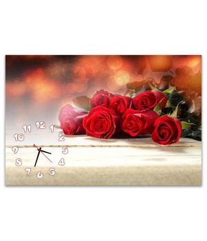Часы настенные Розы, 60x90 см
