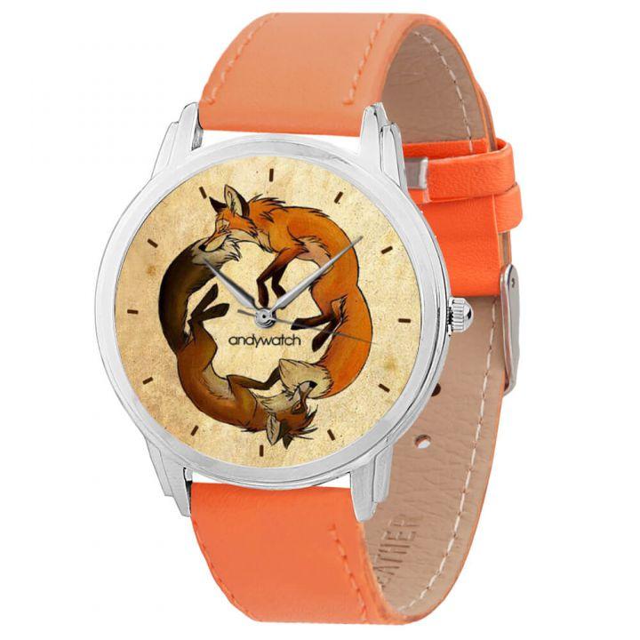 Женские наручные часы AW 012-9 Две лисы