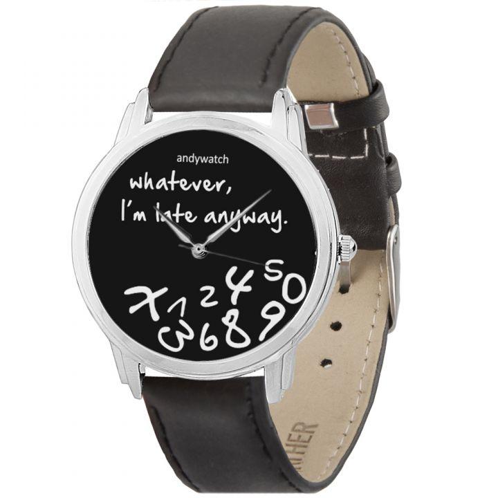 Женские наручные часы AW 021-1 I am late black