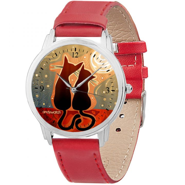 Женские наручные часы AW 027-3 Котики