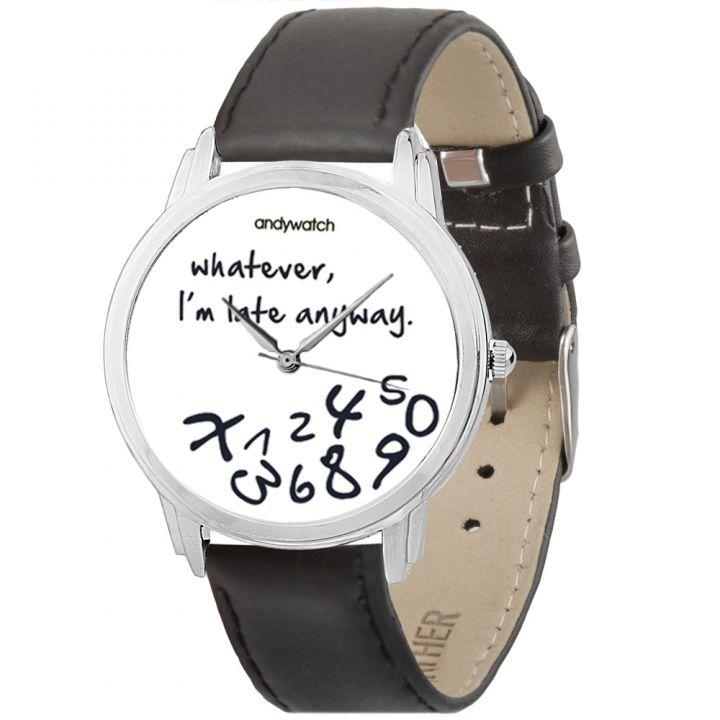 Женские наручные часы AW 030-1 I am late white