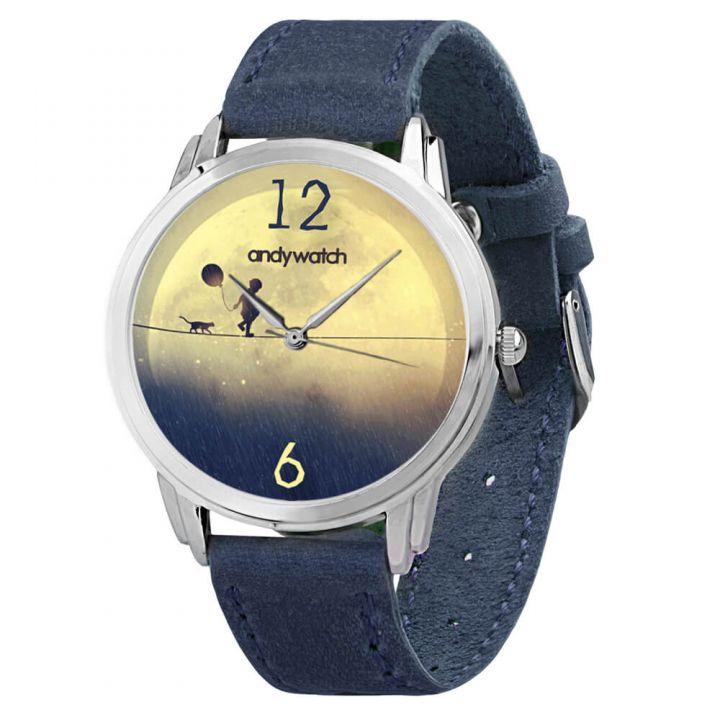 Женские наручные часы AW 036-5 Мальчик на луне