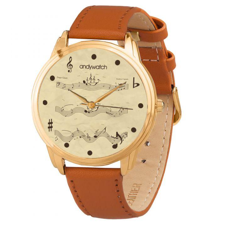 Женские наручные часы AW 043-5 Плывущие ноты