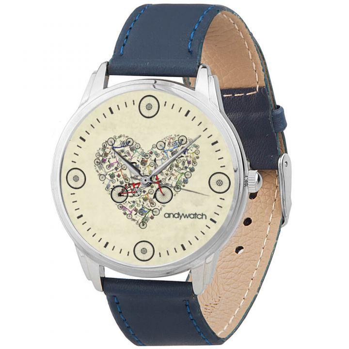 Женские наручные часы AW 114-5 Любовь и велосипеды