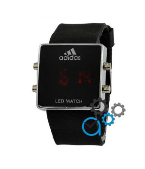 Adidas Led Watch Black-Silver-Black
