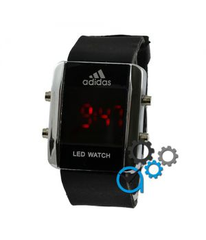 Adidas Led Watch Black-Silver