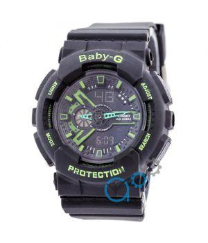 Casio GA-110 Baby-G Black-Green