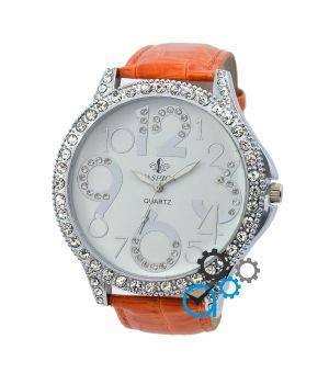 Fashion Diamonds Orange-White