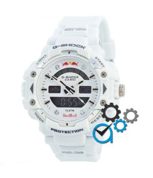 Casio G-Shock Red Bull White