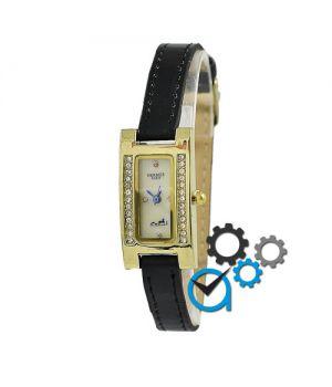 Hermes Quartz Diamonds Black-Gold-White