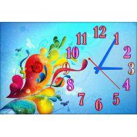 Детские настенные часы Узорчики, 45х30 см