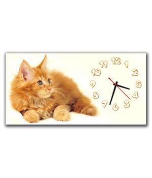 Детские настенные часы Рыжий Котик