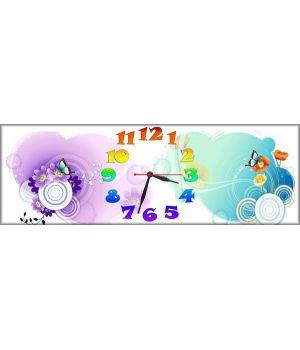 Детские настенные часы Милая Абстракция