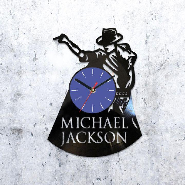 Виниловые часы Майкл Джексон