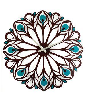 Настенные Часы Peacock Feather