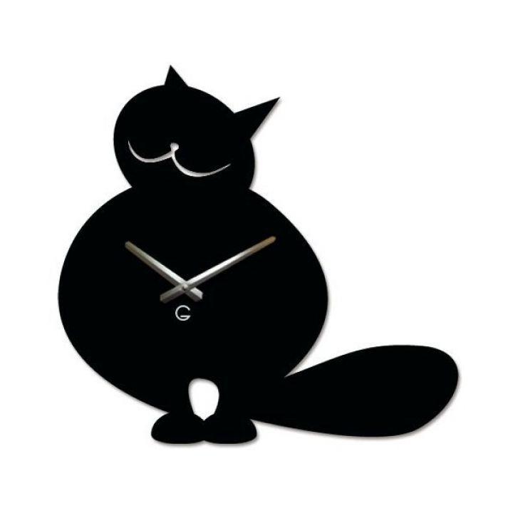 Настенные дизайнерские часы Glozis Cat