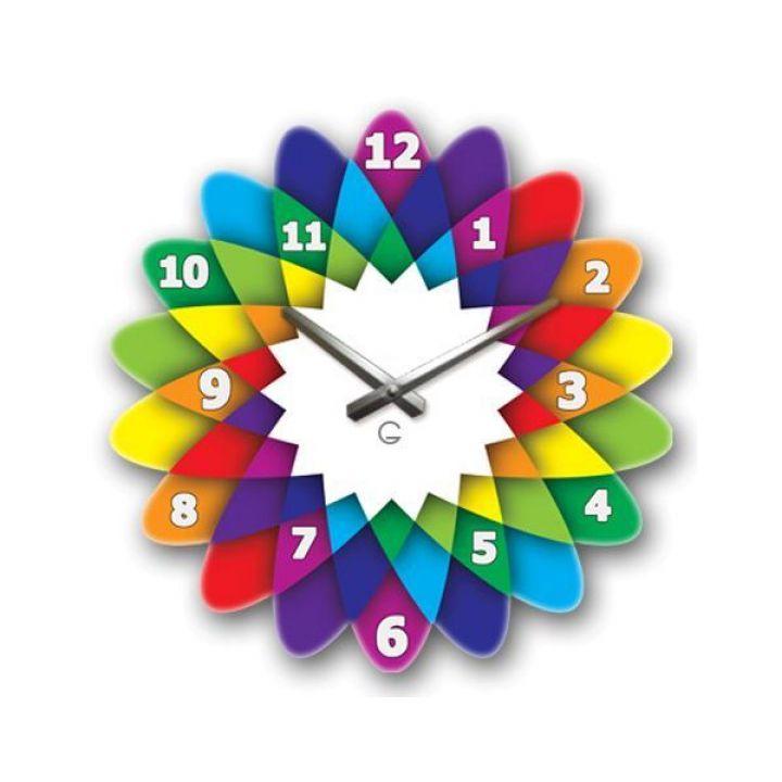 Настенные дизайнерские часы Glozis Kaleidoscope