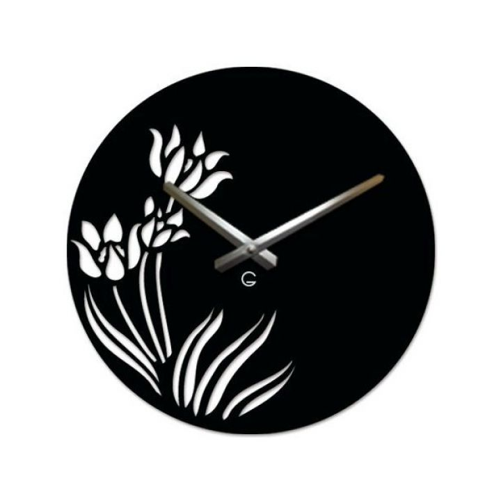 Настенные дизайнерские часы Glozis Tulips