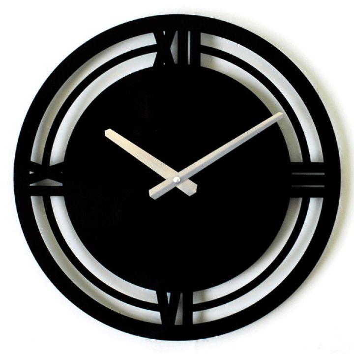 Настенные часы в стиле минимализм Glozis Classic