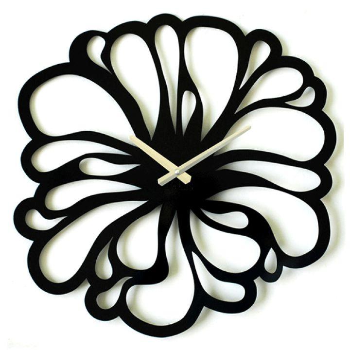 Оригинальные часы на стену Glozis Flower