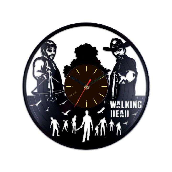 Виниловые часы Ходячие мертвецы. Персонажи