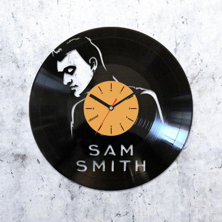 Виниловые часы Сэм Смит