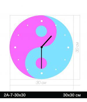 Дизайнерський годинник 2А-7-30х30
