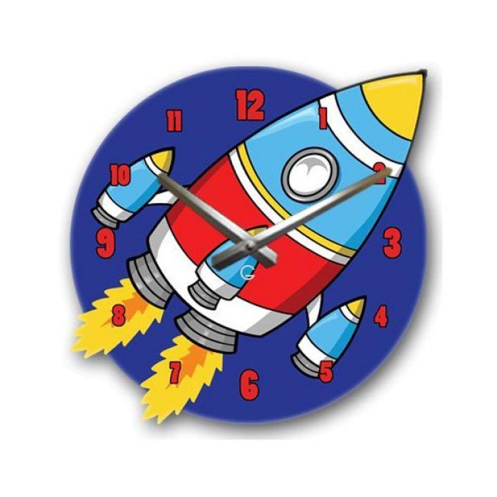 Настенные дизайнерские часы Glozis Rocket