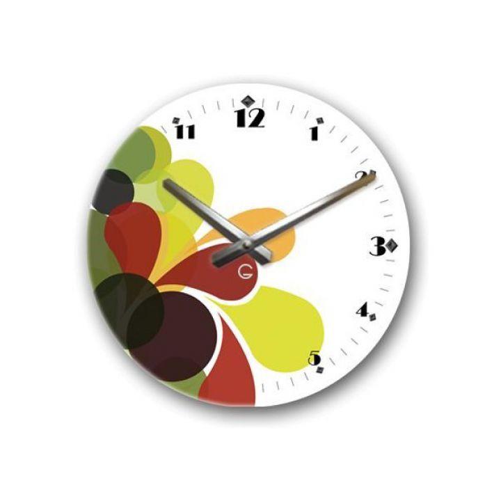 Дизайнерські годинники настінні Glozis Splashа