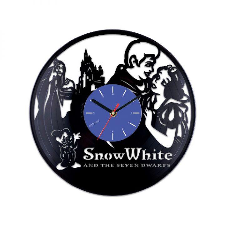Виниловые часы Белоснежка Винтаж